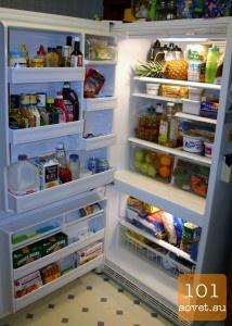 мытье и уход за холодильником