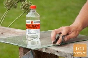 Лайфхак: как удалить засохшую краску со стекла | ЛайфХак 365